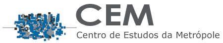 Logo do CEM – Centro de Estudos da Metrópole