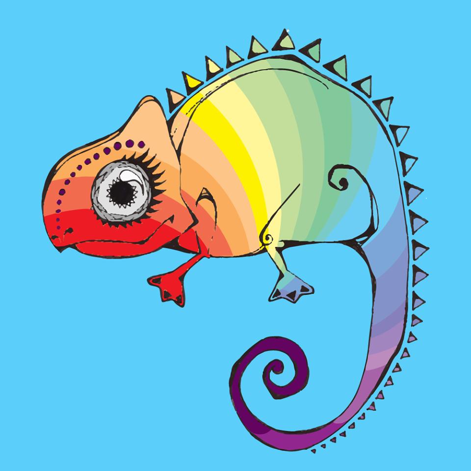 Logo do Coletivo Camaleoa