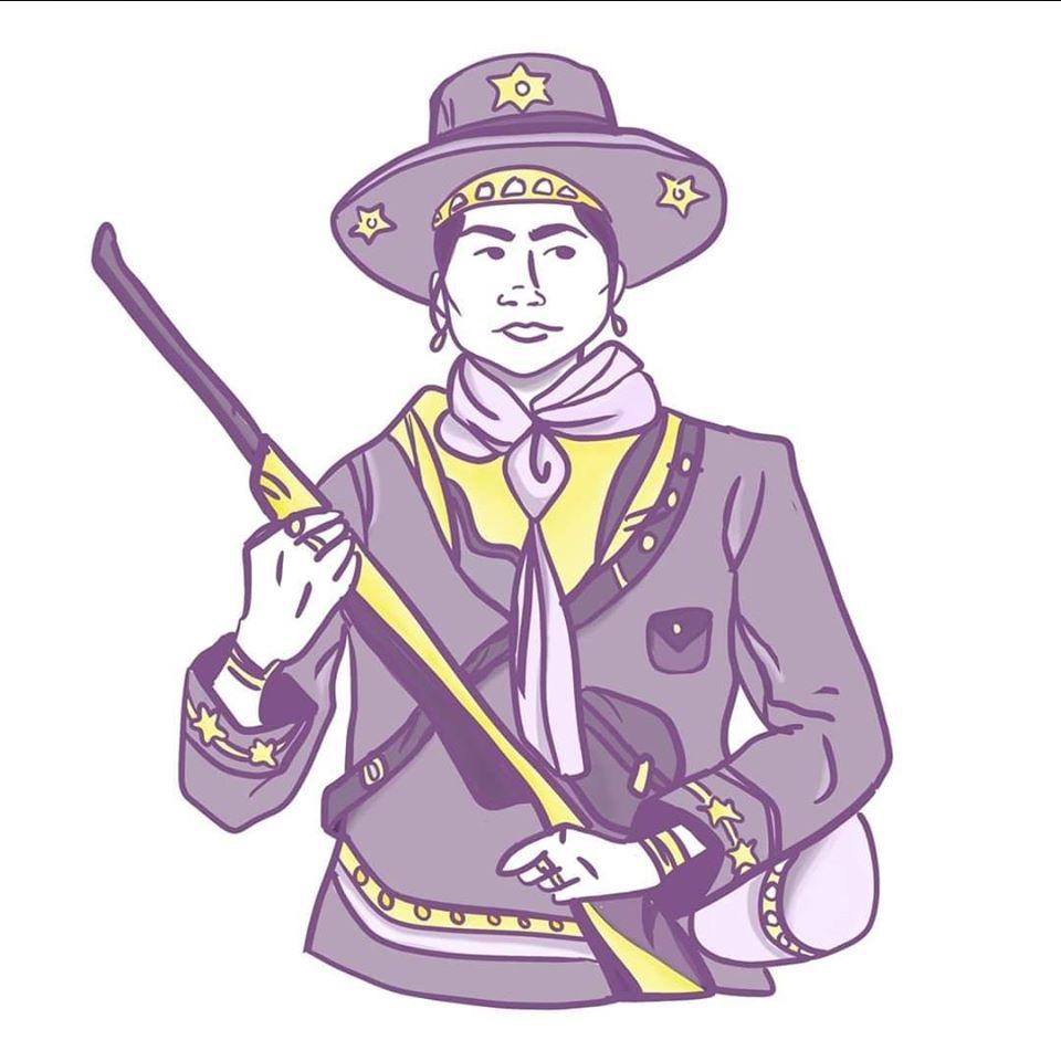 Logo do Coletivo Feminista Maria Bonita