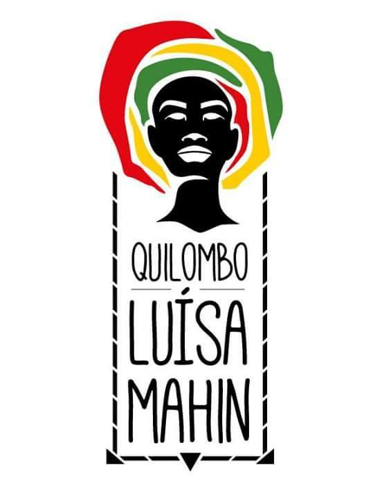Logo do Quilombo Luiza Mahín