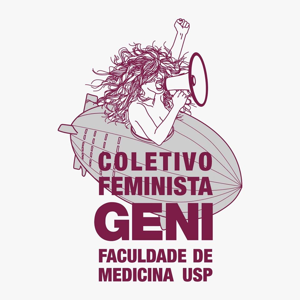 Logo do Coletivo Feminista Geni