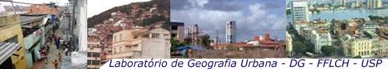 Logo do Labur – Laboratório de Geografia Urbana do Departamento de Geografia