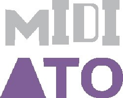Logo do MidiAto – Grupo de Estudos de Linguagem: Práticas Midiáticas