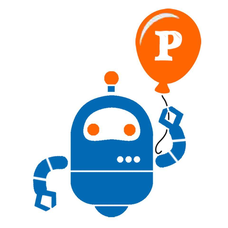 Logo do Principia – Robôs na Escola
