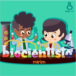 Logo do Biocientista Mirim