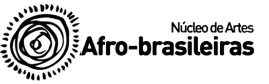 Logo do Núcleo de Extensão e Cultura em Artes Afro-Brasileiras – NECAAB –
