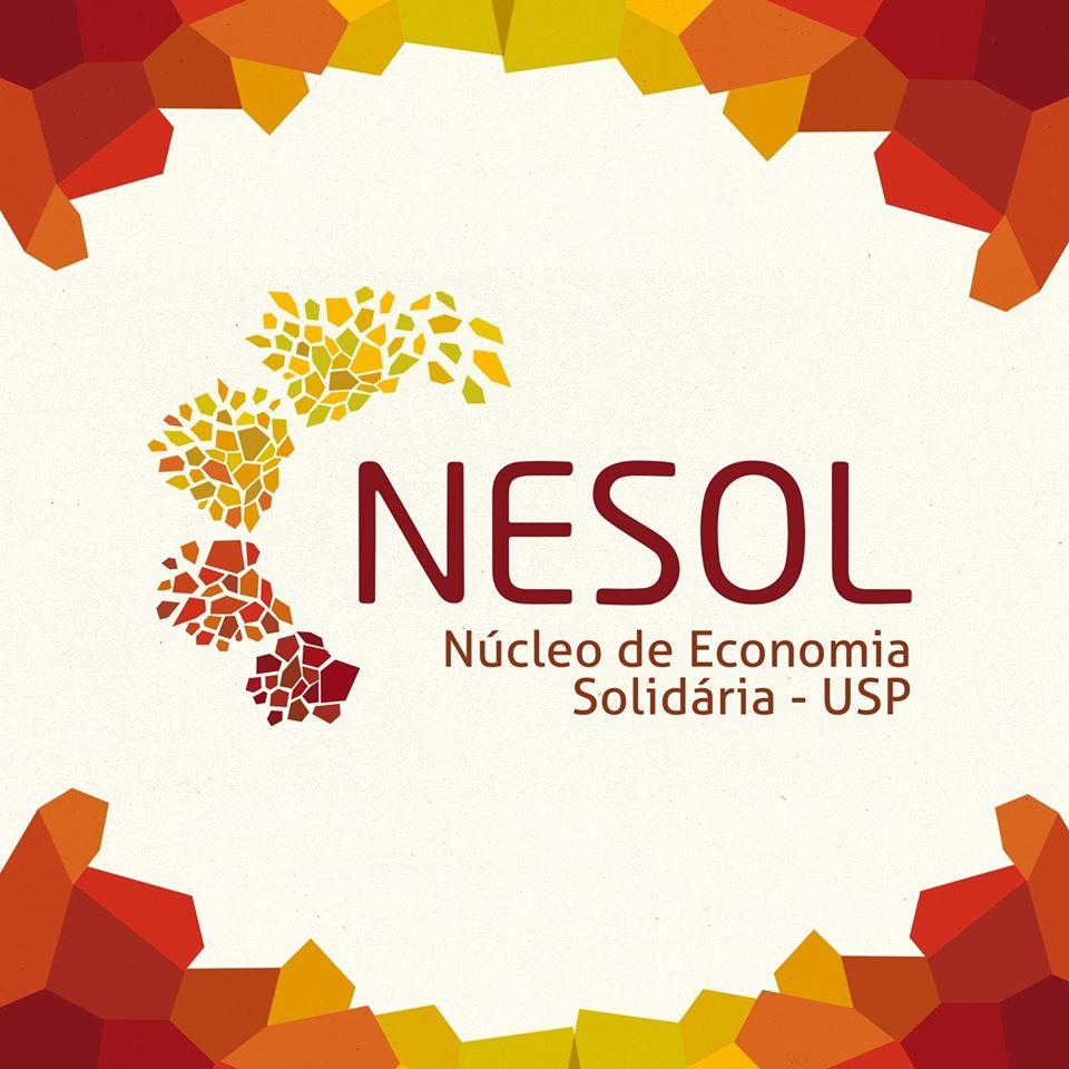 Logo do Núcleo de Apoio às Atividades de Cultura e Extensão Universitária de Economia Solidária -NESOL –